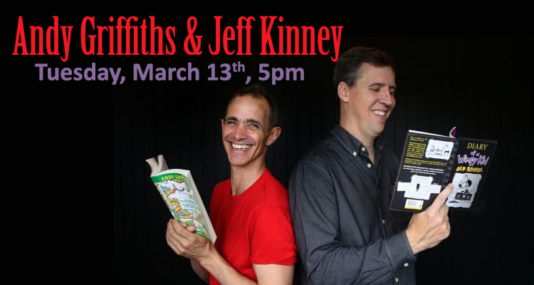 Andy Griffiths with Jeff Kinney