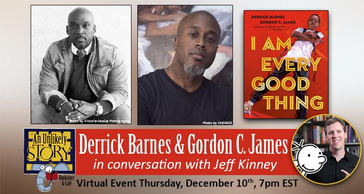 Derrick Barnes & Gordon C. James