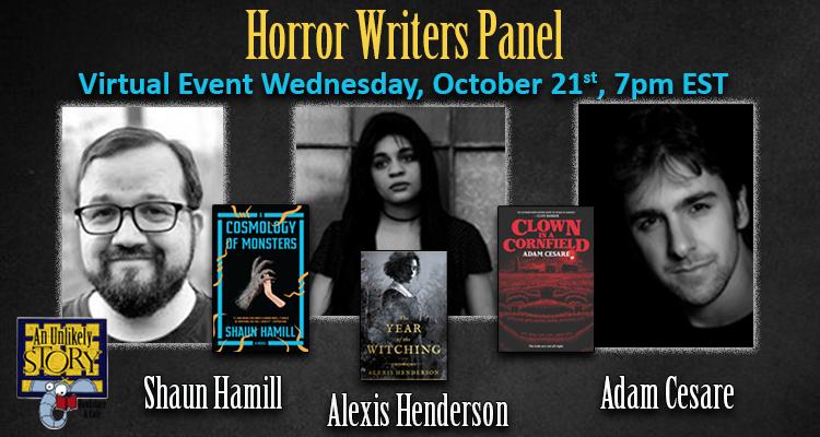 Horror Writers Panel