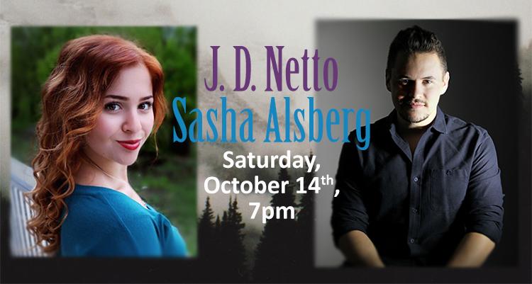 J. D. Netto and Sasha Alsberg