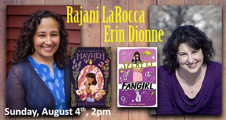 Rajani LaRocca & Erin Dionne
