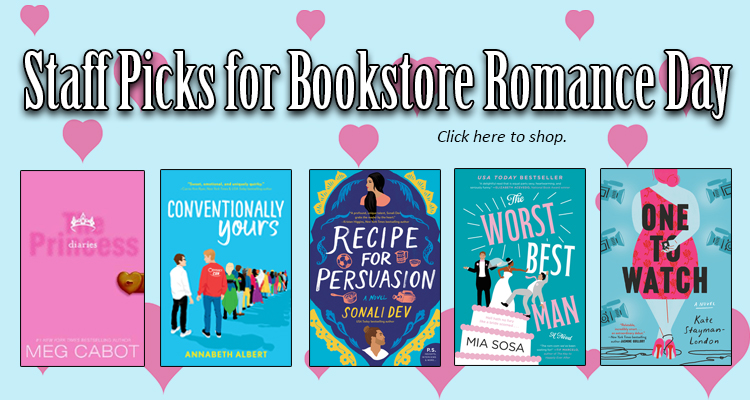 Bookstore Romance Day Recommendations