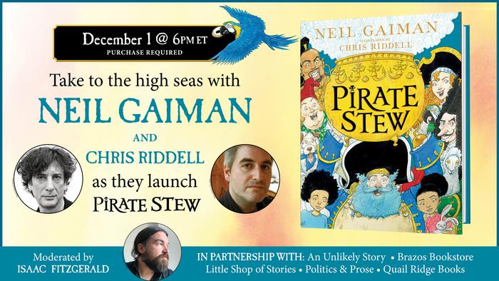 Neil Gaiman & Chris Riddell